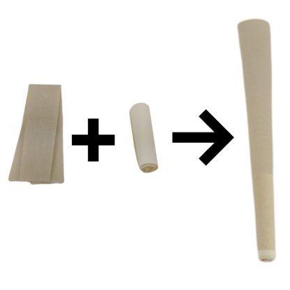 flat + Tip = cone